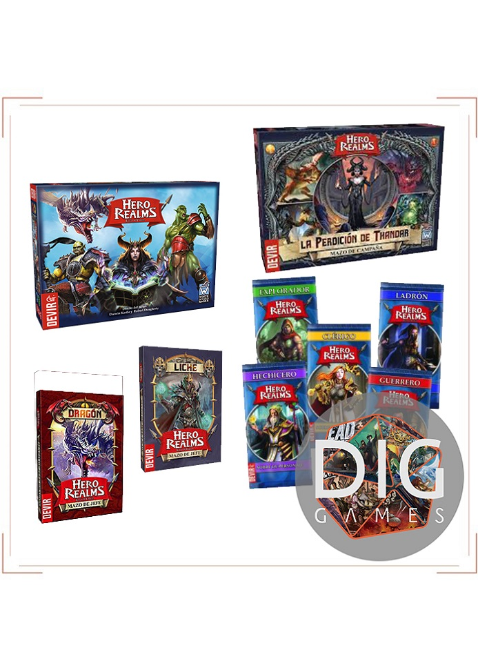 COMBO Hero Realms Pack