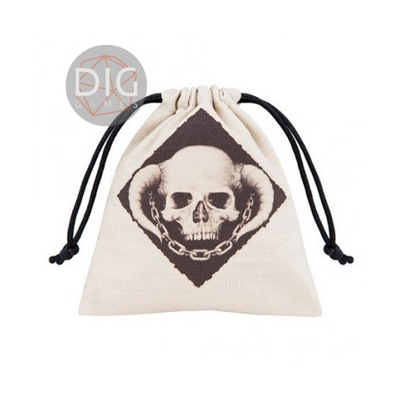 Dice bag Skully Q Workshop