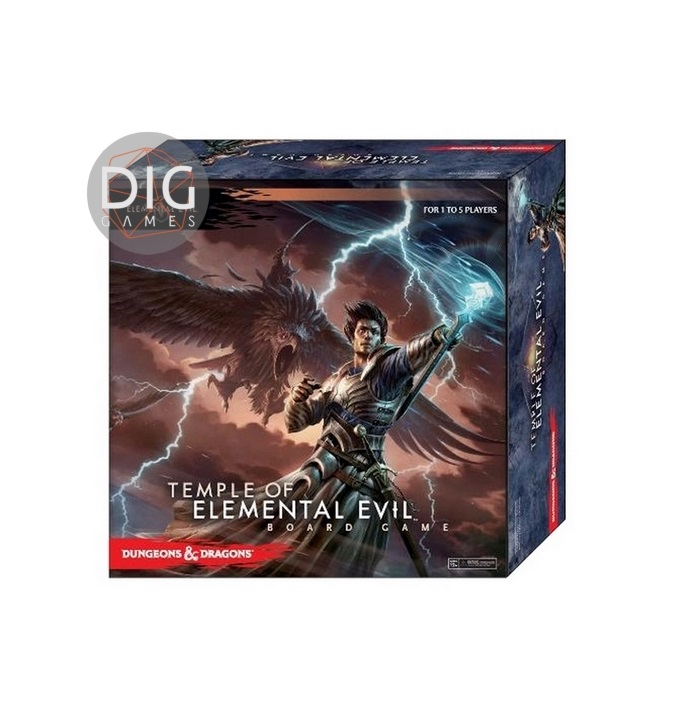 Dungeons and dragons Temple of elemental evil