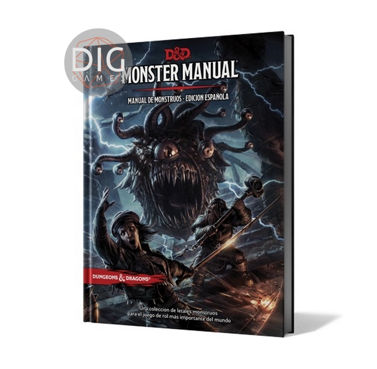 Dungeons & Dragons 5ta Edición Manual de Monstruos