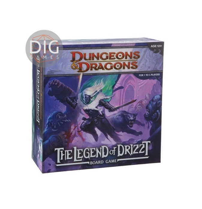 Dungeons and dragons Legend of Drizzt
