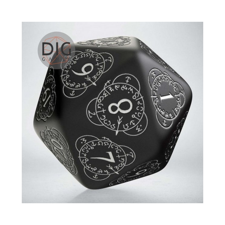 D20 Level Counter Black & white