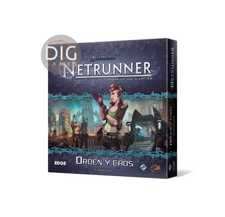Android Netrunner Orden y Caos